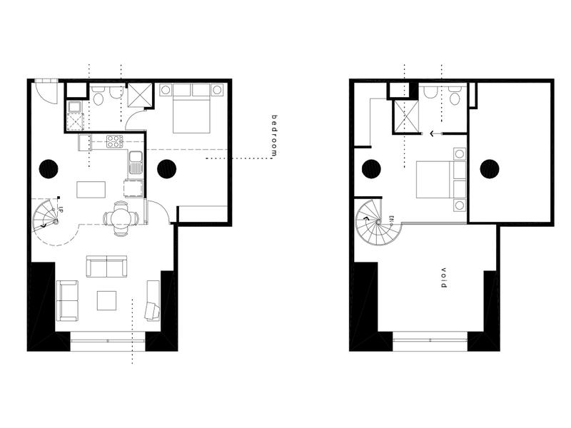 106-9 Degraves St Floor plan
